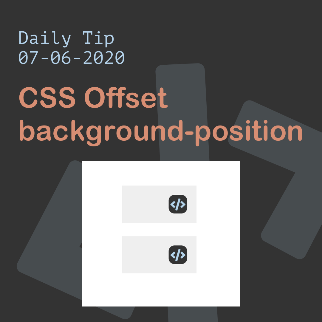 CSS Offset background-position