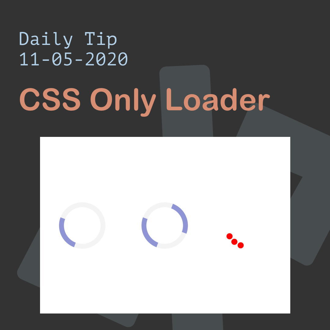 CSS Only Loader
